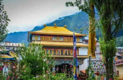 Manali Gompa, one of the key points of interest in Manali