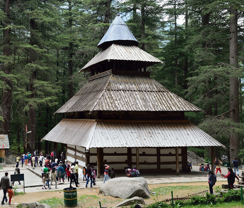 Hidimba Temple located just 5 minutes away from Manali is among the most famous after places to visit in Manali