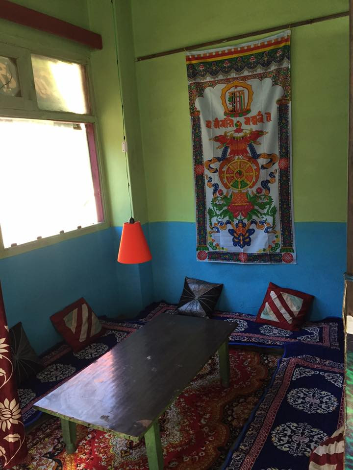 Buddha Place cafe in Kasol is where you find a combination of peace and tranquility along with good food.
