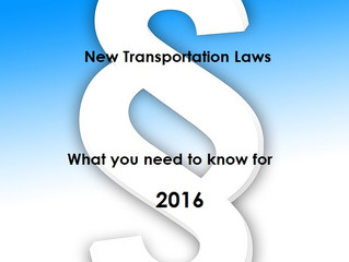 California Regulations Will Effect Trucking Industry 2016