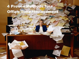 4 Proven Methods for Office Time Management