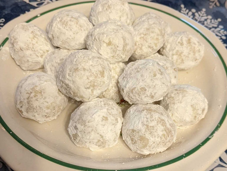 Lemon Coconut Snowball Cookies!