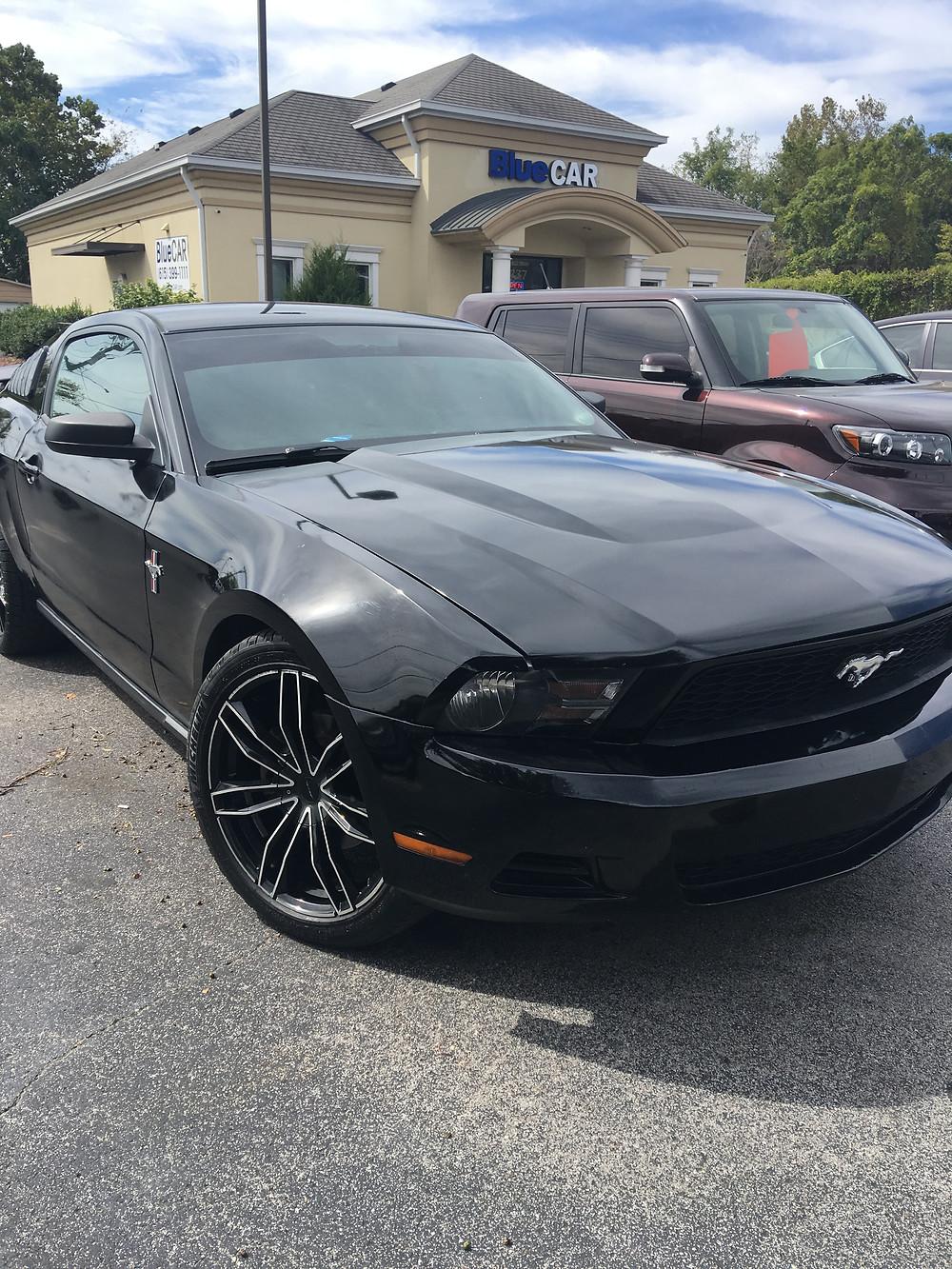 Sleek 2011 Ford Mustang at BlueCAR