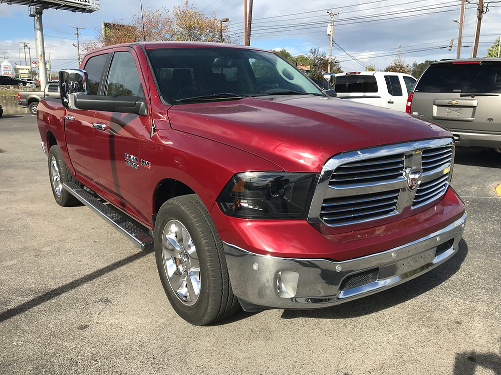 Dodge Ram available NOW at BlueCAR