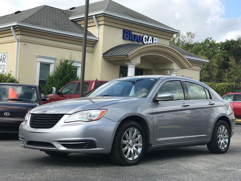 New Chrysler 200 at BlueCAR