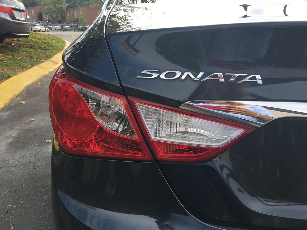Hyundai Sonata Badge