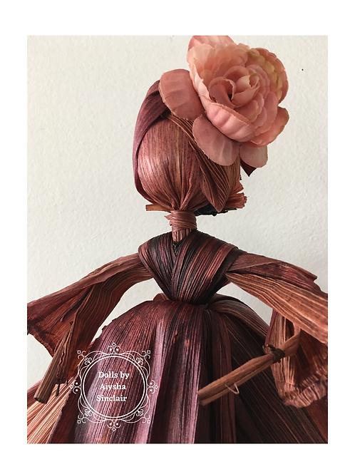 Nutmeg Corn Husk Doll