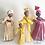"Thumbnail: ""Queen Folk"" Corn Husk Doll (Red)"
