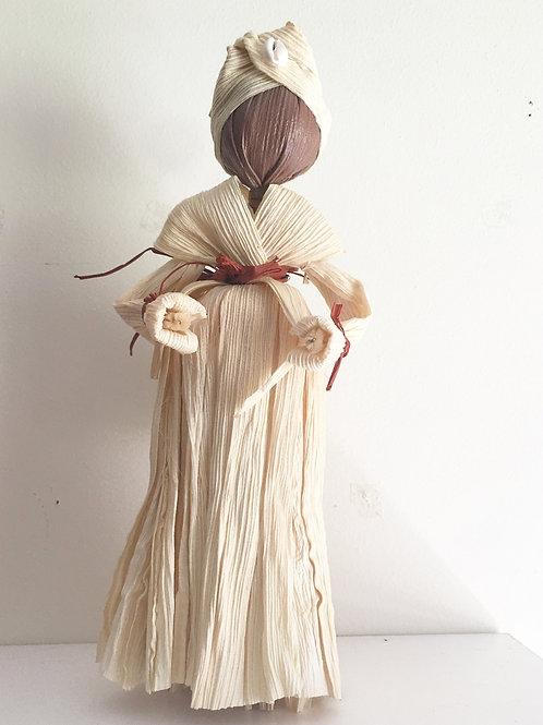 """Queen Folk"" Corn Husk Dolls"