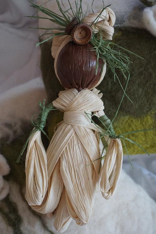 Corn Husk Flower Fairy