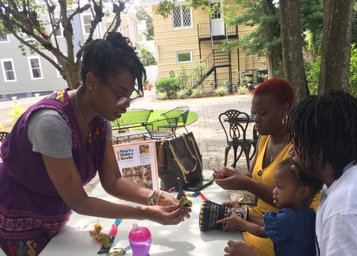 Family Craft Day Event