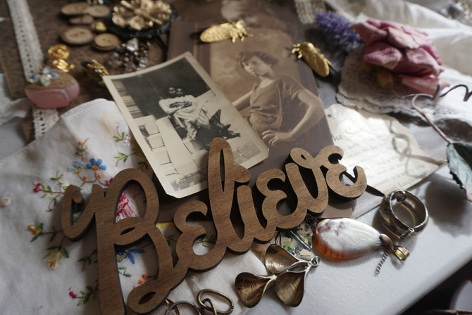 Living Collage: Art in the Lost and Found