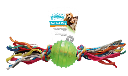 TPR BALL 6.3cm w/ROPE S