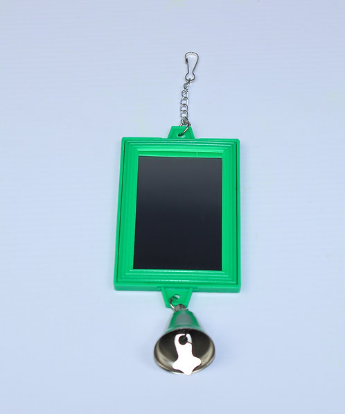 2-SIDED RECT. MIRROR w/BELL