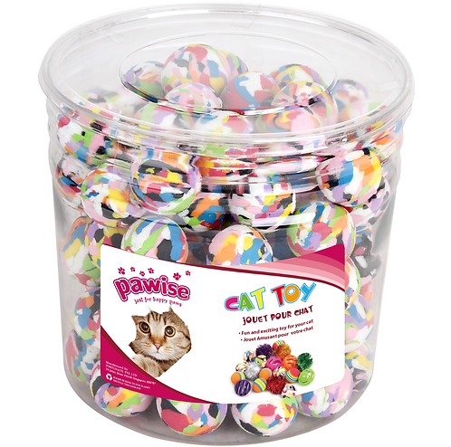 MARBLE BALLS 90PC (CYLINDER)