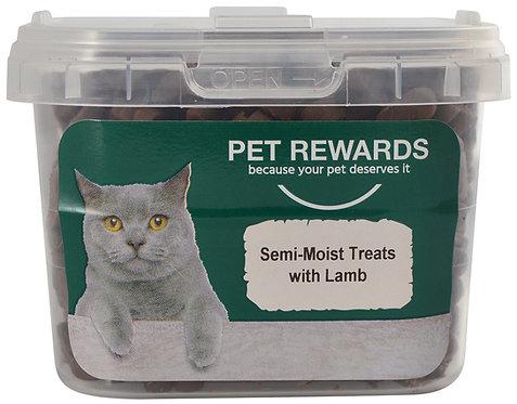 CAT TREATS SEMI MOIST WITH LAMB