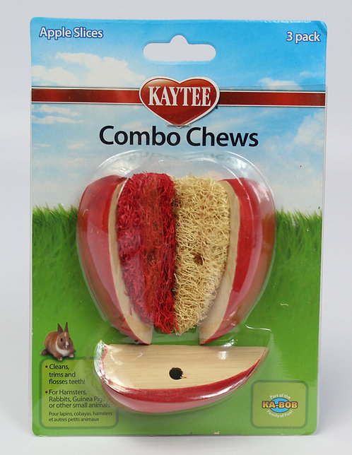3D COMBO CHEW APPLE SLICE