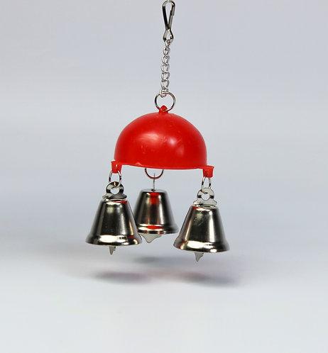 HALF BALL W/3 BELLS