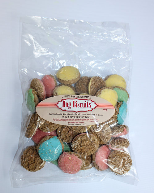 PET PATISSERIE ICED BUTTONS 500gm