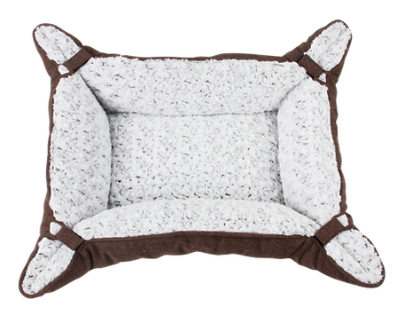 PET DELUXE BED CURLY