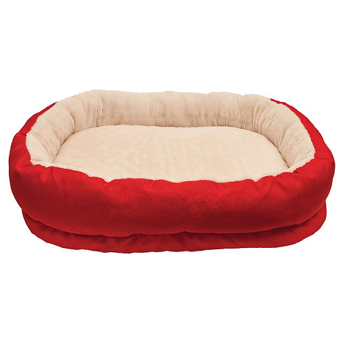 Rosewood Pet Bedding Red Orthopoedic Bed
