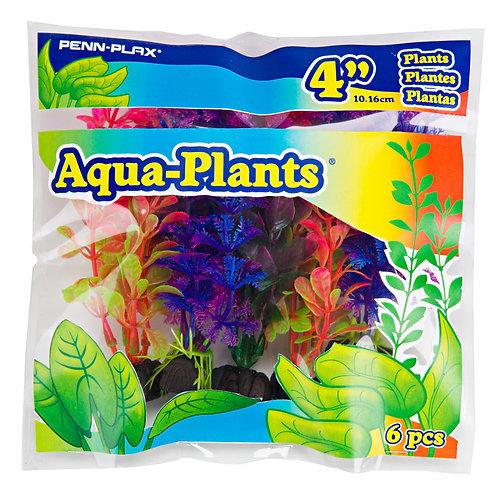 "4"" PLASTIC PLANT COLORFUL PACK"