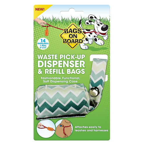 WASTE PICK-UP DISPENSER & REFILL BAGS