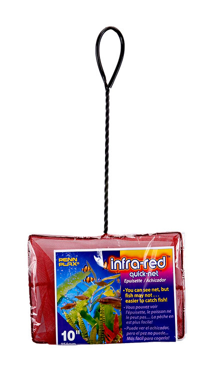"""10 INCH-10"""" X7"""" RED QUICK-NETS"""