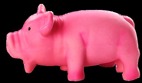 PINK LATEX PIG - S