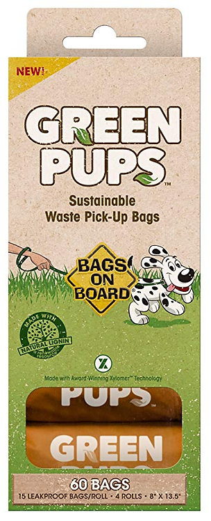 GREEN PUPS SUSTAINABLE PICK-UP BAGS