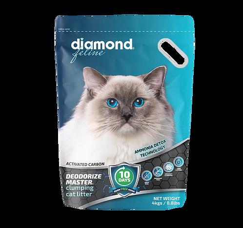 DIAMOND FELINE-DEODORIZE MASTER 4KG