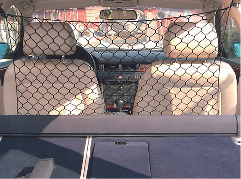 BACKSEAT SAFETY NET 122x64cm w/MOUNTING ACCESS