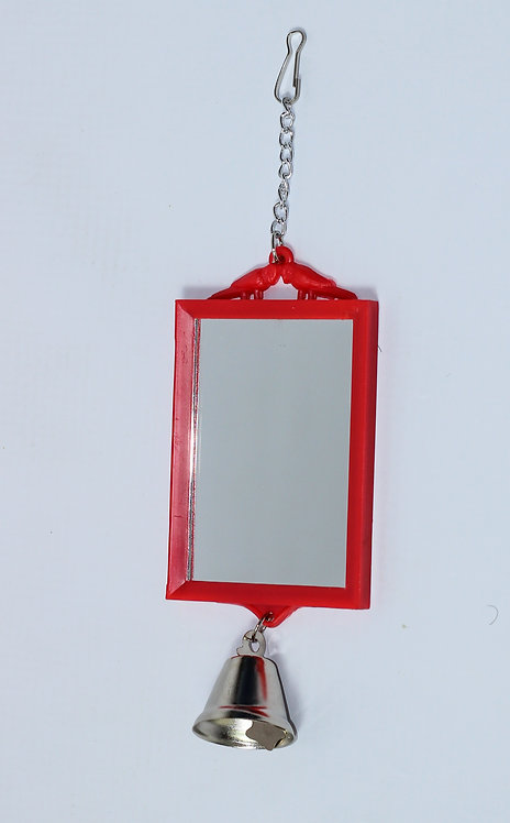 1-SIDED RECTANGULAR MIRROR WITH BELL