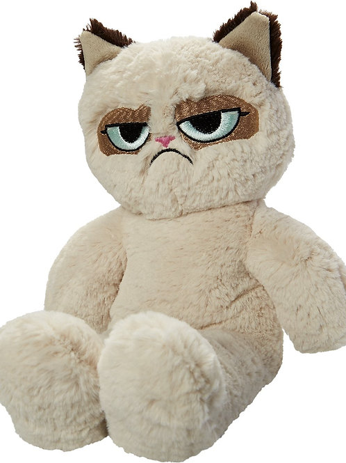 Grumpy Cat Floppy Plush Cat (Dog Toy)
