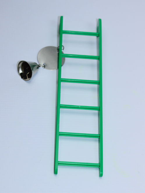 6-STEP LADDER 225mm WITH BELL AND MIRROR