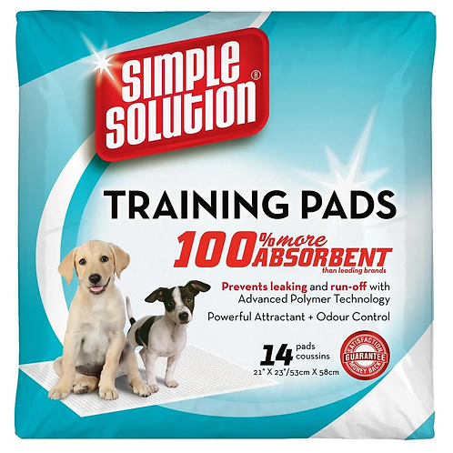 PUPPY TRAINING PADS 14'S