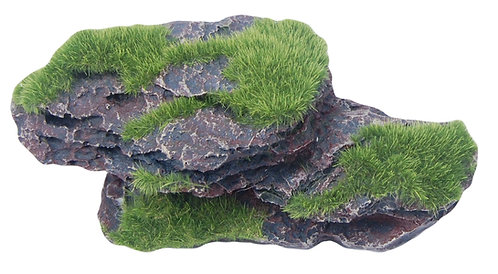 17CM WITH MOSS 4PC