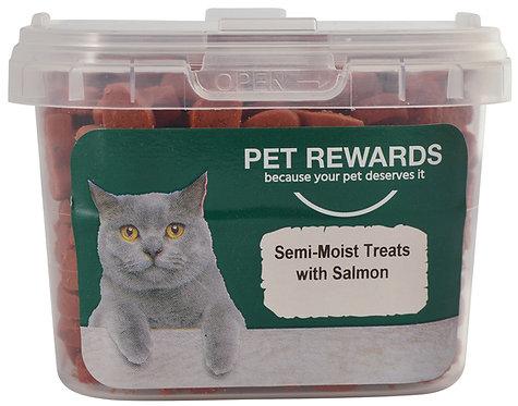 CAT TREATS SEMI MOIST WITH SALMON