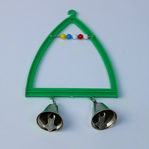 TRI-SWING WITH 2 BELLS AND BEADS