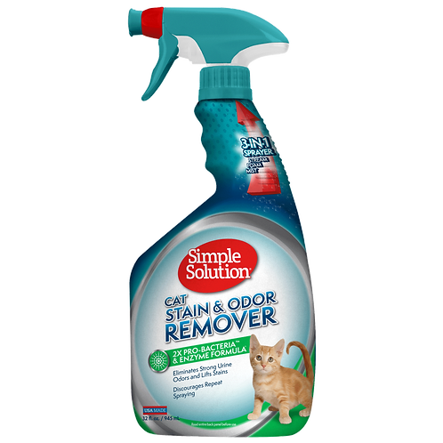 STAIN & ODOUR REMOVER CAT 750ML