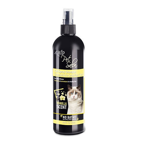 PET SALON CAT SPRAY SHAMPOO