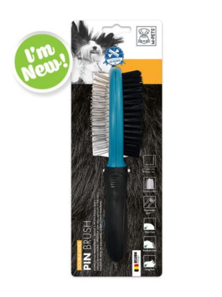 Double-Sided Pin Brush