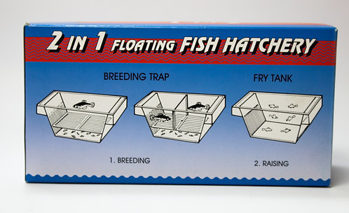 2 IN 1 FLOATING FISH HATCHERY