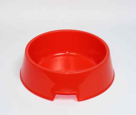 PLASTIC DOG BOWL MEDIUM 175MM