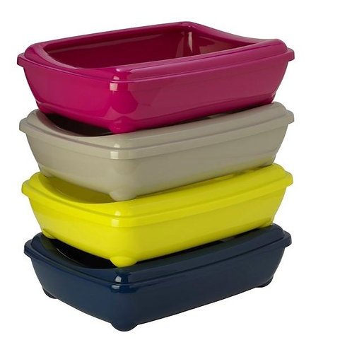 Arist-o-Tray & Rim Medium (Blueberry, Hot Pink, Lemon Yellow,Warm Grey)