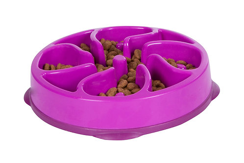 Outward Hound Fun Feeder Purple