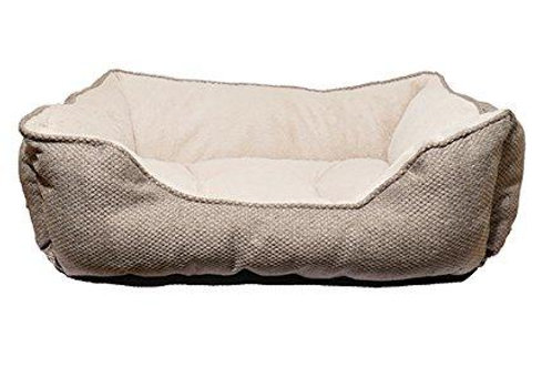 Rosewood Pet Bedding Lux Truffle SQ Bed