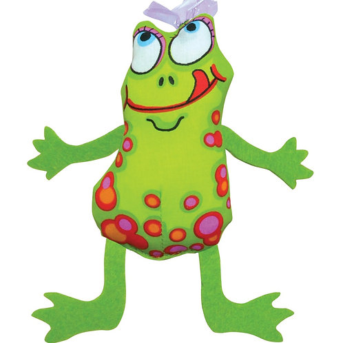 Madcap Frog & Fly