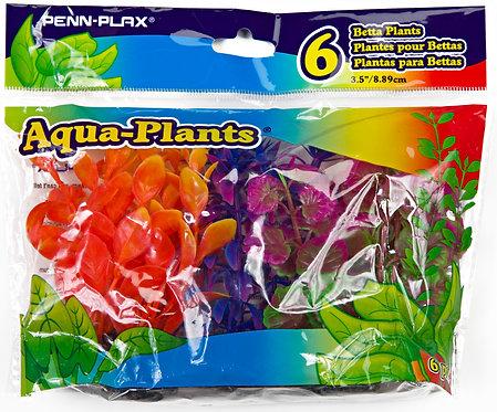 BETTA SIZE PLASTIC PLANT COLORFUL