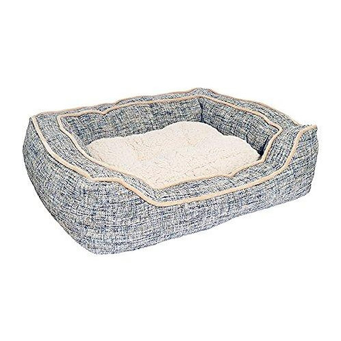 Rosewood Pet Bedding Lux Slate & Oatmeal